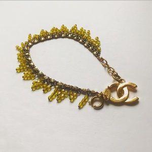 Authentic Vintage Chanel Gripoix Bracelet